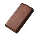 ROCK Flip leather Cases Holster Skin for Samsung Galaxy Note i9220 N7000 - Coffee
