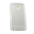TPU Soft Skin Silicone Cases Covers for Samsung i9100 i9108 Galasy S II S2 - White