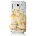 BASEUS Extraordinary Moscow Hard Cases Covers for Samsung I9300 Galaxy SIII S3 - Gold