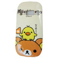 Cartoon Rilakkuma Hard Cases Skin Covers for Nokia C7 C7-00 - Beige