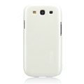 Nillkin Bright Side Hard Cases Skin Covers for Samsung I9300 Galaxy SIII S3 - White (High transparent screen protector)