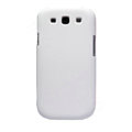 Nillkin Matte Hard Cases Skin Covers for Samsung I9300 Galaxy SIII S3 - White (High transparent screen protector)