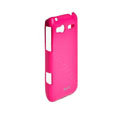ROCK Colorful Glossy Cases Skin Covers for HTC C110e Radar - Red (High transparent screen protector)