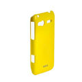ROCK Colorful Glossy Cases Skin Covers for HTC C110e Radar - Yellow (High transparent screen protector)
