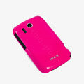 ROCK Colorful Glossy Cases Skin Covers for HTC Explorer Pico A310e- Red (High transparent screen protector)