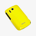 ROCK Colorful Glossy Cases Skin Covers for HTC Explorer Pico A310e- Yellow (High transparent screen protector)