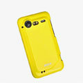 ROCK Colorful Glossy Cases Skin Covers for HTC Incredible S S710E G11 - Yellow (High transparent screen protector)