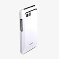 ROCK Colorful Glossy Cases Skin Covers for HTC Raider 4G X710E G19 - White (High transparent screen protector)