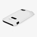 ROCK Colorful Glossy Cases Skin Covers for HTC Vigor Rezound ADR6425 - White (High transparent screen protector)