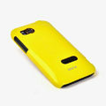 ROCK Colorful Glossy Cases Skin Covers for HTC Vigor Rezound ADR6425 - Yellow (High transparent screen protector)