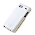 ROCK Colorful Glossy Cases Skin Covers for Samsung i9070 Galaxy S Advance - White (High transparent screen protector)