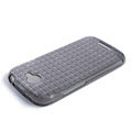 ROCK Magic cube TPU soft Cases Covers for HTC One S Ville Z520E - Black