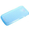 ROCK Magic cube TPU soft Cases Covers for HTC One S Ville Z520E - Blue