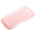 ROCK Magic cube TPU soft Cases Covers for HTC One S Ville Z520E - Pink