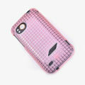 ROCK Magic cube TPU soft Cases Covers for HTC Vigor Rezound ADR6425 - Pink (High transparent screen protector)