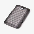 ROCK Magic cube TPU soft Cases Covers for HTC X310e Titan - Black