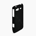 ROCK Naked Shell Hard Cases Covers for HTC C110e Radar - Black (High transparent screen protector)
