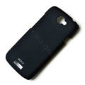 ROCK Naked Shell Hard Cases Covers for HTC ONE S Ville Z520E - Black (High transparent screen protector)