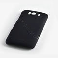 ROCK Naked Shell Hard Cases Covers for HTC Sensation XL Runnymede X315e G21 - Black (High transparent screen protector)