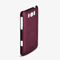 ROCK Naked Shell Hard Cases Covers for HTC X310e Titan - Red (High transparent screen protector)