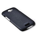 ROCK Quicksand Hard Cases Skin Covers for HTC Ville One S Z520E- Black
