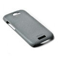 ROCK Quicksand Hard Cases Skin Covers for HTC Ville One S Z520E- Gray