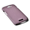 ROCK Quicksand Hard Cases Skin Covers for HTC Ville One S Z520E- Purple