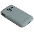 ROCK Quicksand Hard Cases Skin Covers for Samsung i8160 Galaxy Ace 2 - Gray