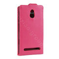 Leather Cases Support Holster Cover For Sony Ericsson LT22i Xperia P - Rose