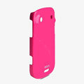 ROCK Colorful Glossy Cases Skin Covers for BlackBerry 9900 - Rose (High transparent screen protector)