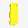 ROCK Colorful Glossy Cases Skin Covers for BlackBerry 9900 - Yellow (High transparent screen protector)