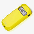 ROCK Colorful Glossy Cases Skin Covers for Nokia 701 - Yellow (High transparent screen protector)
