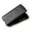 ROCK Flip leather Cases Holster Skin for Nokia N9 - Black