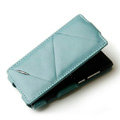 ROCK Flip leather Cases Holster Skin for Nokia N9 - Blue