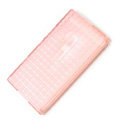 ROCK Magic cube TPU soft Cases Covers for Nokia Lumia 900 Hydra - Pink (High transparent screen protector)