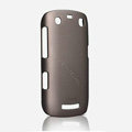 ROCK Naked Shell Hard Cases Covers for BlackBerry 9360 - Coffee (High transparent screen protector)