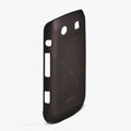 ROCK Naked Shell Hard Cases Covers for BlackBerry 9860 Monza - Coffee (High transparent screen protector)