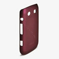ROCK Naked Shell Hard Cases Covers for BlackBerry 9860 Monza - Red (High transparent screen protector)