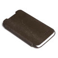 ROCK Side Flip leather Cases Holster Skin for HTC One X Superme Edge S720E - Coffee