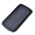 ROCK Side Flip leather Cases Holster Skin for Samsung i9250 GALAXY Nexus Prime i515 - Blue