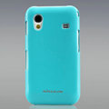 Nillkin Colorful Hard Cases Skin Covers for Samsung Galaxy Ace S5830 i579 - Blue (High transparent screen protector)