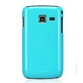 Nillkin Colorful Hard Cases Skin Covers for Samsung S5380 Wave Y- Blue (High transparent screen protector)