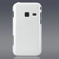 Nillkin Colorful Hard Cases Skin Covers for Samsung S5820 - White (High transparent screen protector)