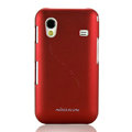 Nillkin Super Hard Cases Skin Covers for Samsung Galaxy Ace S5830 i579 - Red (High transparent screen protector)