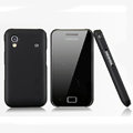 Nillkin Super Matte Hard Cases Skin Covers for Samsung Galaxy Ace S5830 i579 - Black (High transparent screen protector)