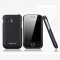 Nillkin Super Matte Hard Cases Skin Covers for Samsung S5360 Galaxy Y I509 - Black (High transparent screen protector)