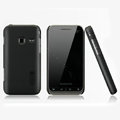 Nillkin Super Matte Hard Cases Skin Covers for Samsung S5820 - Black (High transparent screen protector)