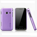 Nillkin Super Matte Hard Cases Skin Covers for Samsung S5820 - Purple (High transparent screen protector)