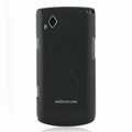 Nillkin Super Matte Hard Cases Skin Covers for Samsung S8530 Wave II - Black (High transparent screen protector)