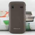Nillkin Super Matte Hard Cases Skin Covers for Samsung i569 S5660 Galaxy Gio - Brown (High transparent screen protector)